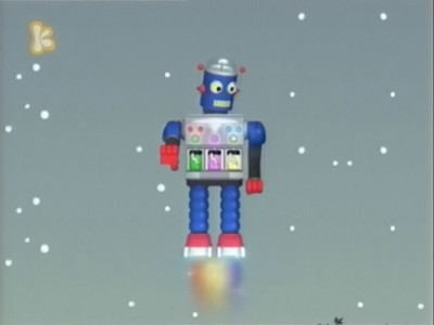 The Music Robot From Outer Space