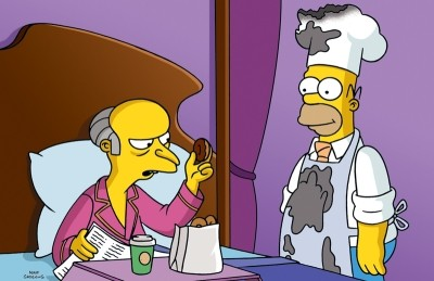 Homer fait son Smithers