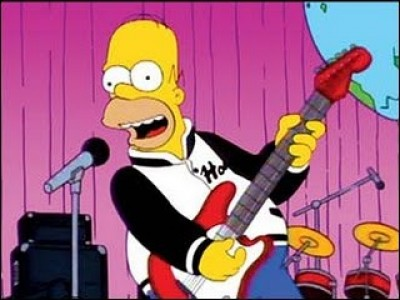 Homer Like a Rolling Stone