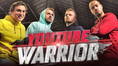 YOUTUBE WARRIOR vs Maxenss & Squeezie
