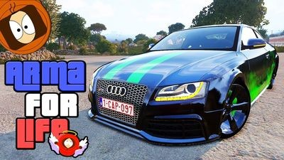 "AUDI RS5 ""SURPRISE"" : VOITURE ULTRA RARE ! 
