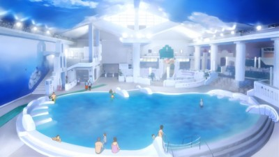 Hakone-chan and the Hot Spring Pool