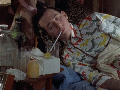 Pee-Wee Catches A Cold