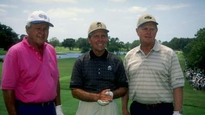 The Big Three - Palmer, Nicklaus and Player