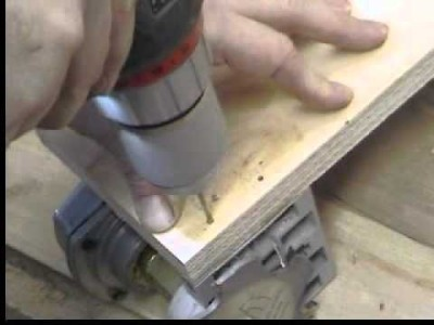 Homemade Bench Top Biscuit Joiner Harbor Freight Modification