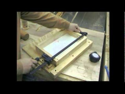 Using A Homemade Biscuit Joiner to Make Drawers