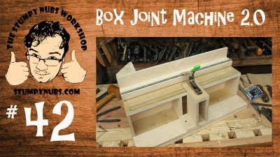 New Box/Finger Joint Jig with Incra positioner style teeth