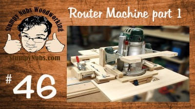 Build your own homemade WoodRat / Router Boss / Leigh Super FMT (part 1 of 2)