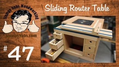 Build your own Festool CMS style homemade router table with sliding table