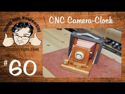 Make a Pony Premo camera clock with the CNC Shark HD 3.0 (Review)