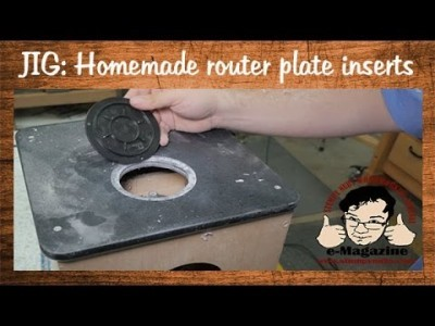 Homemade Router Lift upgrade: adding a throat insert