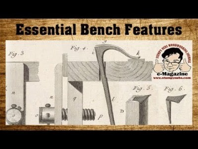 NO BS- What every woodworker needs to know about workbenches