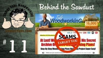 Ted's Woodworking Plans: Fight the Scam!