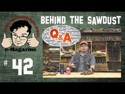 Q&A- Stumpy answers your questions, woodworking tips and more!