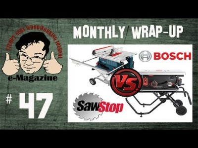 Dec 2016 Wrap-Up with Snarky Comments (The latest in the Sawstop vs Bosch Reaxx lawsuit + more!)