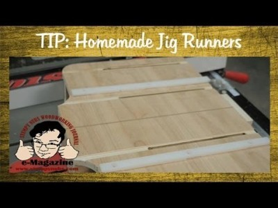 Making table saw jig runners, How to adjust a sled fence