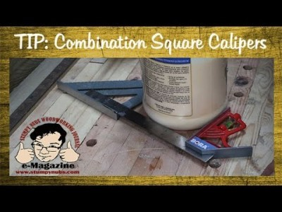 Combination square calipers