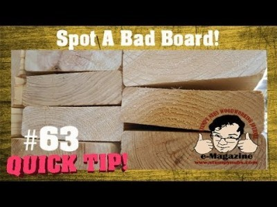 How to tell if a 2X4 (or other board) will warp BEFORE you buy it