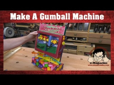 Make a Rube Goldberg-Style Gumball Machine Out of Wood