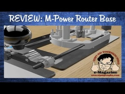 How a micro adjuster changes the way we use a router- M Power CRB7 MK3 Review