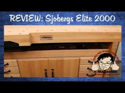 What to look for in a high quality woodworking workbench- Sjobergs Elite 2000 bench review