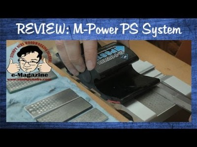 Freehand tool sharpening the easy way- M-Power PS System
