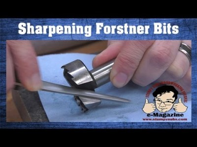 Fast & Easy Forstner Bit Sharpening