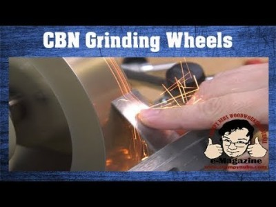 How I changed my bench grinder forever with CBN wheels