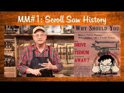 History of the scroll saw and Design Types
