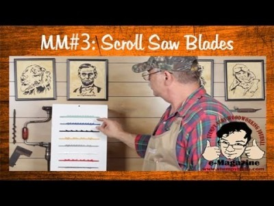 Everything You Ever Wanted to Know About Scroll Saw Blades