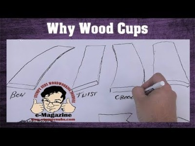 Why wood warps, cups, and how to stop it