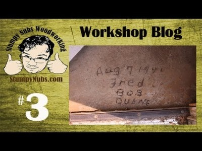 SNW Shop Blog #3- Preserving the history of the workshop