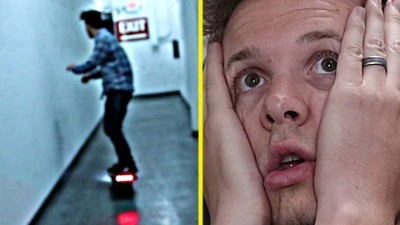 almost DIED on a One Wheel Hoverboard