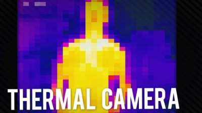 Guess what we found in thermal vision!