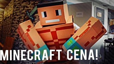 Made a John Cena Minecraft Costume