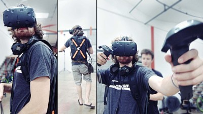 Future of Gaming! (VR Backpack)