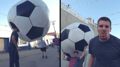 Giant Soccer Ball (football)