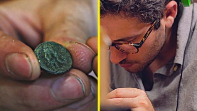 Unearthing Ancient Roman Coins