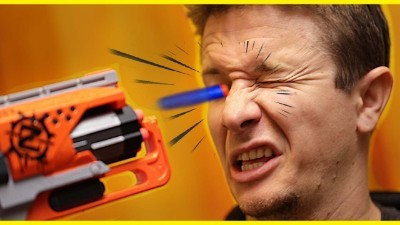 Nerf Dart to the Eye
