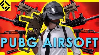 ALL the PUBG Guns for AIRSOFT!