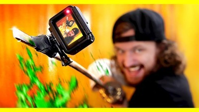 GoPro on a Sword!
