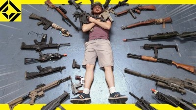 Massive Airsoft Arsenal - Best, Weird, & Rare Guns