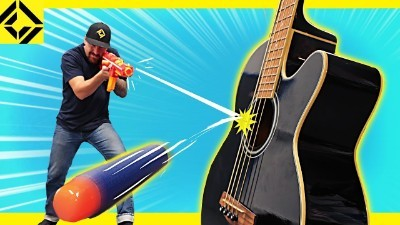 Playing MUSIC with NERF guns!