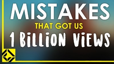 5 Mistakes You Need to Make to Get 1 Billion Views