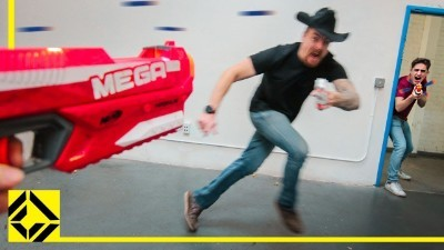 Nerf Office War | $9300 Wrendering PC!
