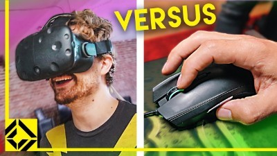 Unfair Advantage? VR vs Mouse + Keyboard in Same Game!