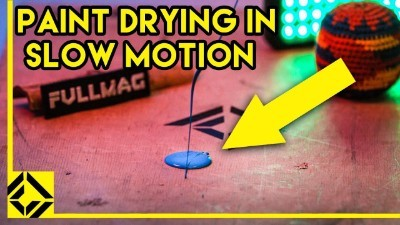 Paint Drying in Slow Motion ( 1000fps )