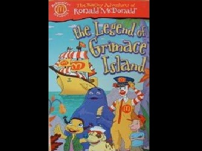 The Legend of Grimace Island