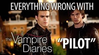 """Everything Wrong With The Vampire Diaries """"Pilot"""""""
