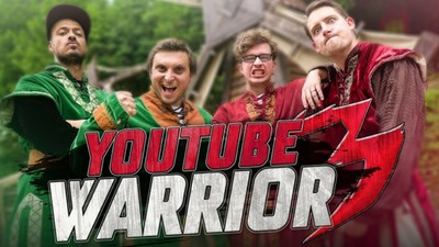 YOUTUBE WARRIOR 3 vs Jimmy Labeeu & Math se fait des films